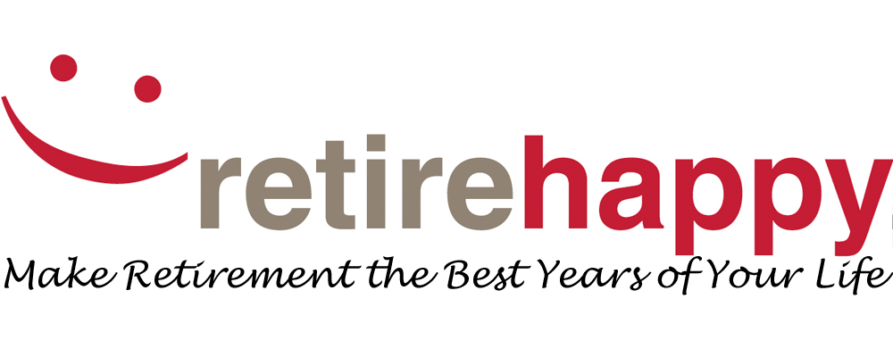 Retire Happy Logo (2012) - make retirement the ebst years of your life